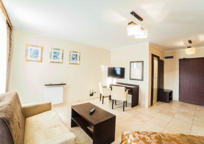 Apartament z widokiem na morze. Avangard Resort.